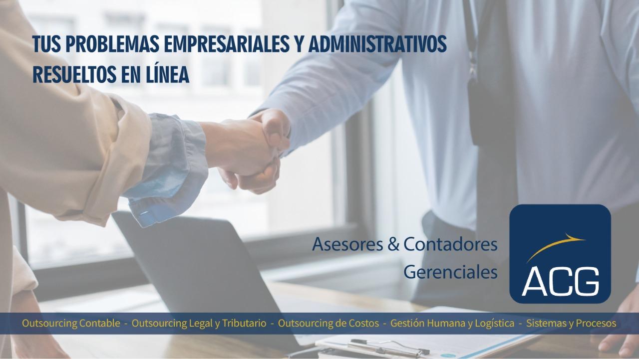 Empresa especializada en Outsourcing Contable, Tributario y soluciones empresariales integrales.