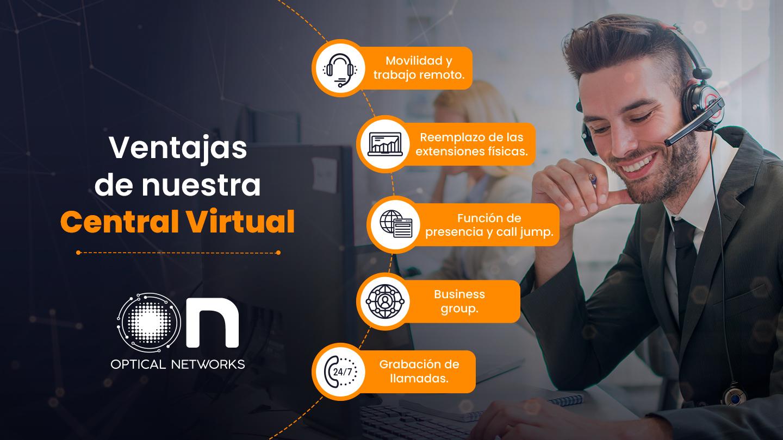 Ventajas de nuestra Central Virtual